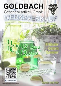 Frühjahrswerksverkauf 2016 Flyer Seite 1