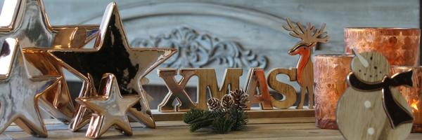 Weihnachten im Farbton Kupfer